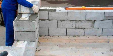 подвал бетонные блоки